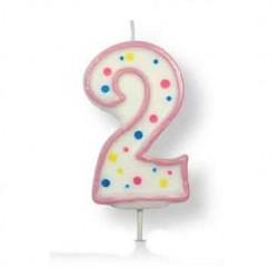 2, rosa sifferljus (PME)