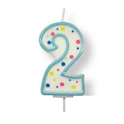 2, blåa sifferljus (PME)
