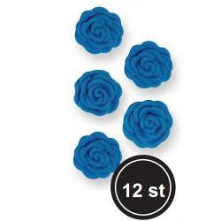 Blåa rosor, ca 12 st