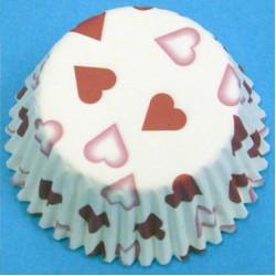 Petite Heart, 60 st muffinsformar