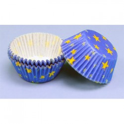 Golden Stars, 60 st muffinsformar