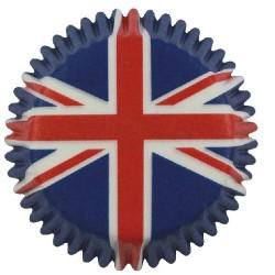 Union Jack, 100 st små muffinsformar