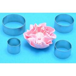 Nyponros/Öppen ros, 4 metallutstickare