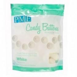 Candy Buttons, vit (mintsmak) 340g