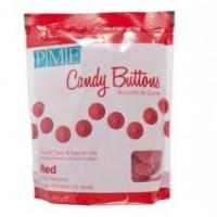 BF 20161125 - Candy Buttons, röd 340g