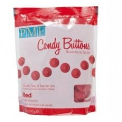 Candy Buttons, röd 340g