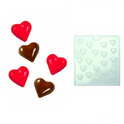 Mini Hearts, chokladform