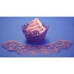 Floral, cupcake wraps