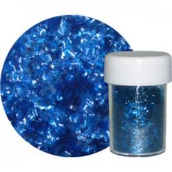 Glitter Flakes, blått