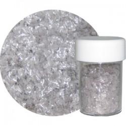 Glitterflingor, silver
