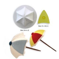 Parasoll/Paraply, 2 delar