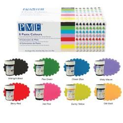 8-pack pastafärg (PME)