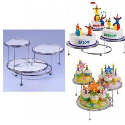 Tårtställning, 3 våningar