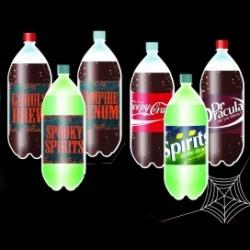 Flasketiketter, 6 olika