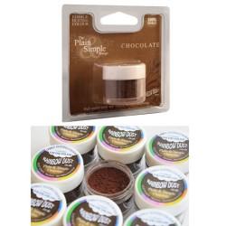 Chocolate, pulverfärg
