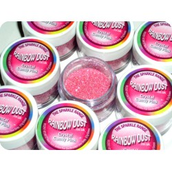 Crystal Candy Pink, dekorationsglitter