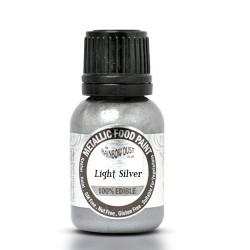 Flytande färg, silver (Met. Light Silver)