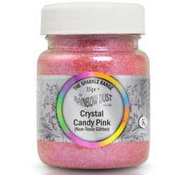 Crystal Candy Pink, glitter (35g)