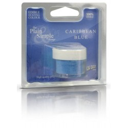 Caribbean Blue, pulverfärg (RD)