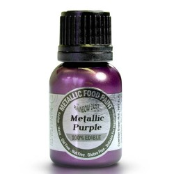 Metallic Purple, food paint