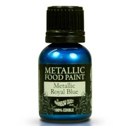 Metallic Royal Blue, food paint
