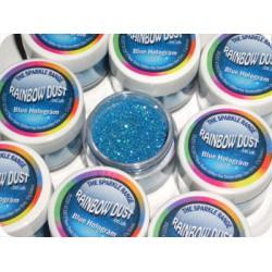 Blue Hologram, glitter