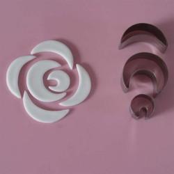 Rose, 3 utstickare