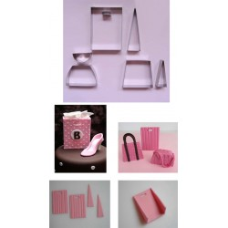 Handväskor, 7 delar