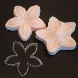 Palm Flower, utstickare o silikonveiner