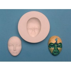 Ansiktsmask, silikonform