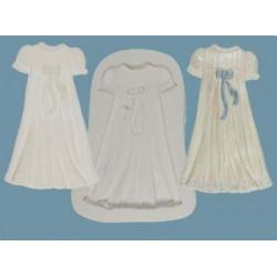 Dopklänning, silikonform