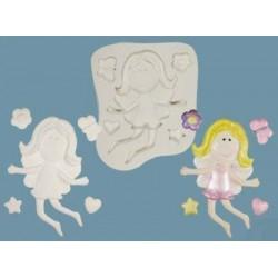 Funky Fairy, silikonform