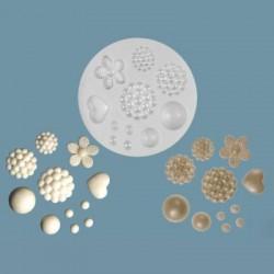 Pärlor, silikonform