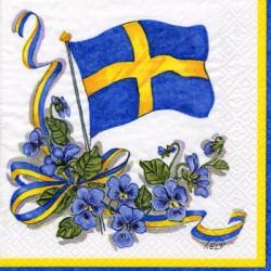 Svenska flaggan, 20 st servetter