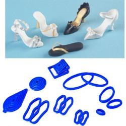 Små skor, deluxe set (23 utstickare)