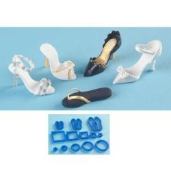 Små skor, 13 utstickare