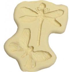 Fjäril och trollslända, 2 st