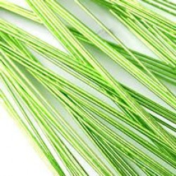 Metallic-tråd, limegrön (26G)