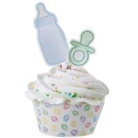 Baby, cupcake wraps (kampanj)