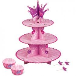 Pink Princess, Cupcake Stand Kit