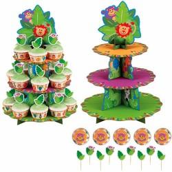 Djungel, Cupcake Stand Kit