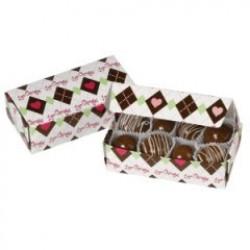 Love Chocolate, 3 st chokladaskar