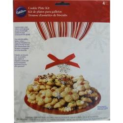 Snowflake, 4 st ge-bort-fat