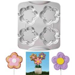 Blommor, pops-/kakbakform