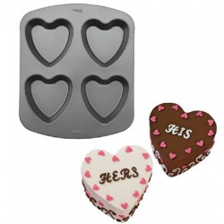 Mini Hearts Cake Pan, bakform