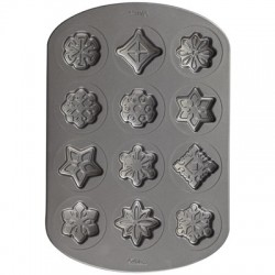 Snowflakes, cookie pan