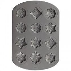 Snowflakes, cookie pan