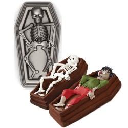 Skelett i kista, bakform
