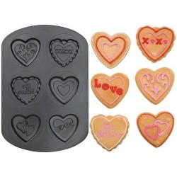 Cookie Hearts, bakform till kakor