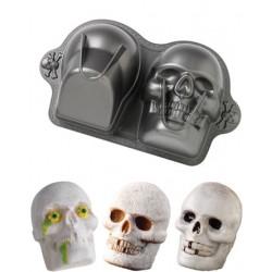 Dimensions Skull Pan, bakform